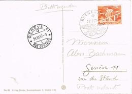 27835. Tarjeta BETHLEHEM (Berma) 1957 To Geneve - Suisse