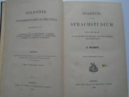 B004  Einleitung In Das SPRACHSTUDIUM - B.DELBRÜCK - Leipzig 1893 - Libros, Revistas, Cómics