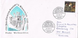 27837. Carta HILDESHEIM (Alemania Federal) 1986. Himmelsthur. Weihnachten - [7] República Federal