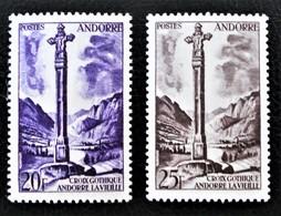CROIX GOTHIQUE 1955/58 - NEUFS ** - YT 148/49 - Neufs