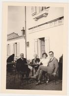 """26437 Photo Café Restaurant Terrasse -"""" Beurre Blanc """" Année 1950 Sans Doute - Lieux"""