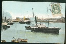 Départ Du Bateau à Vapeur - Le Havre