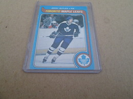 1979-1980 OPC JERRY BUTLER / 393 TORONTO MAPLE LEAFS - 1970-1979