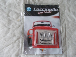 Altaya Coccinelle 1303 Cabriolet Volkswagen Numéro 77 - Maquettisme