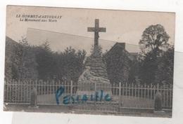 50 MANCHE PONT HEBERT - CP LE HOMMET D'ARTHENAY - LE MONUMENT AUX MORTS - EDIT. FRIGOUT LE HOMMET D'ARTHENAY - Frankrijk
