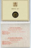 2017 - VATICANO - VATICAN -  - PONTIFICATO DI PAPA FRANCESCO - MONETA COMMEMORATIVA 2 EURO - ANNO 2017 - Vaticano