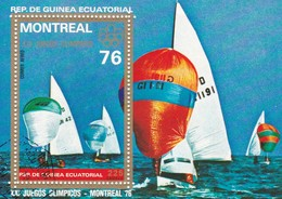 GUINEA EQUATORIALE  XXI JUEGOS OLIMPICOS MONTREAL 1976 - Guinea Equatoriale