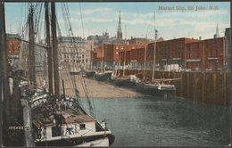 Market Slip, St John, New Brunswick, C.1905-10 - Valentine's Postcard - St. John