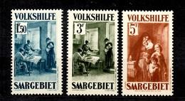 Sarre YT N° 152/154 Neufs *. B/TB. A Saisir! - Unused Stamps