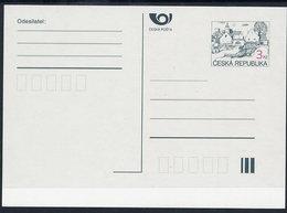 CZECH REPUBLIC 1995 3 Kc.definitive Postcard 1. Issue Unused.  Michel P6 A - Postal Stationery