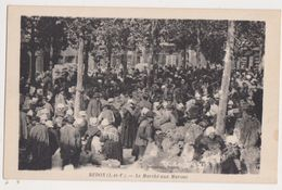 26441 Redon Le Marché Aux Marons -ed Boutaloup Redon- Coiffe Costume Breton - Redon