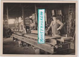 Vieux  Papier : USSEL Corrèze Etabl. Barret-Dalégre  , Menuiserie( Env. 18 Par 13 Cm) - Non Classés