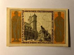 Allemagne Notgeld Braunschweiger 25 Pfennig - [ 3] 1918-1933 : Weimar Republic
