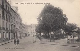 CAEN : Place De La République Et Le Square - Caen