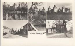 AK - NÖ - ORTH A/d Donau - Strassenansicht - Uferhaus - Schloß Orth 1958 - Autriche