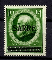Sarre YT N° 31 Neuf *. B/TB. A Saisir! - Unused Stamps
