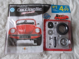 Altaya Coccinelle 1303 Cabriolet Volkswagen Numéro 2 - Model Making