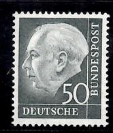 Allemagne/RFA Heuss YT N° 71A Neuf ** MNH. TB. A Saisir! - [7] République Fédérale