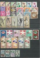 BURUNDI Scott8 Séries Complètes (39) O Cote 10,25$ - 1962-69: Oblitérés