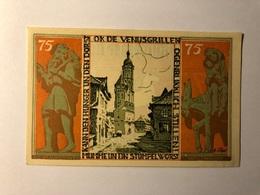 Allemagne Notgeld Braunschweiger 75 Pfennig - [ 3] 1918-1933 : Weimar Republic