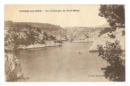 CASSIS Sur MER (cpa 13)  La Calanque De Port Miou - Cassis