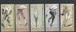 BURUNDI Scott 68-72 Yvert 75-79 (5) ** Cote 4,50 $ 1964 - 1962-69: Neufs