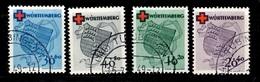 Allemagne/ZOF/Würtemberg YT N° 38/41 Oblitérés. B/TB. A Saisir! - Zone Française