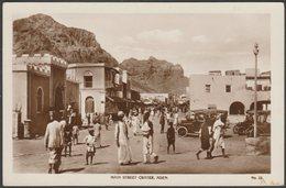 Main Street, Crater, Aden, C.1910s - Lehem RP Postcard - Yemen