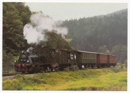 Güterzug-Tenderlokomotive 89 7159 Der DGEG (Ex Königl. Preuß. Staatsb.T3 Altona 6158) Vor Historischem Zug Bei Elmstein - Eisenbahnen
