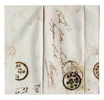 Brief Mit 15 Centesimi Stempelmarke Postalisch Von Bassano Nach Venezia - RR - Lombardo-Venetien