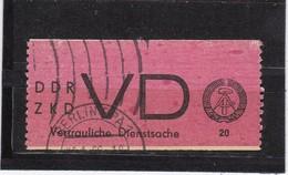 DDR, Dienst: VD 1, Gest. Gepr. Weigelt, BPP(T 2976) - Service