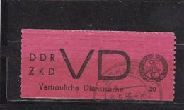 DDR, Dienst: VD 1, Gest. Gepr. Weigelt, BPP(T 2977) - Service