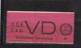 DDR, Dienst: VD 1, Gest. (T 2978) - Service