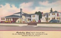 MANHATTAN MOTEL. COLORADO, USA.-TBE-BLEUP - Hotel's & Restaurants