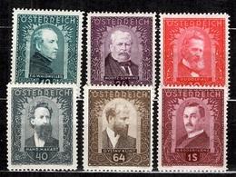 Autriche YT N° 420/425 Neufs *. B/TB. A Saisir! - Unused Stamps