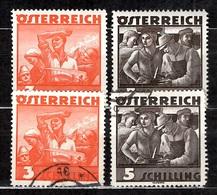 Autriche YT N° 482/483 Neufs ** MNH Et Oblitérés. TB. A Saisir! - 1918-1945 1st Republic