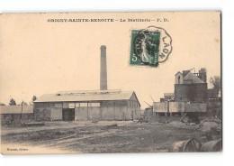 CPA 02 Origny Sainte Benoite La Distillerie - France
