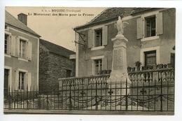 Bouzic Le Monument Des Morts - France
