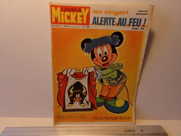 """Le Journal De Mickey Nouvelle Série N° 1069, 39 Pages , 1972 """" Les Zingari Alerte Au Feu """" - Mickey - Autres"""