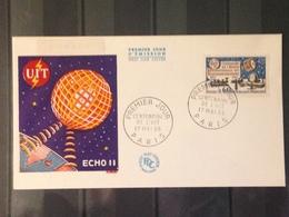 France - 1965 - Enveloppe 1er Jour - Centenaire De L'UIT - France