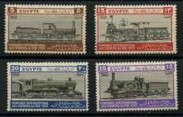 Egypte (1933) N 146 A 149 (Luxe) - Égypte