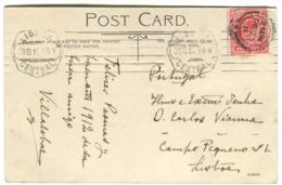 Composer VILLALOBOS On Postcard Sent From England 1911 To O. Carlos Vianna In Lisbon - Autogramme & Autographen