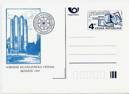 CZECH REPUBLIC 1997 4 Kc. Postcard National Philatelic Exhibition Unused.  Michel P21 - Postal Stationery