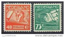 Nederland Luchtpost 4/5 Postfris/MNH - Correo Aéreo
