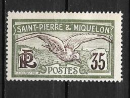 1909 - N° 86*MH -Goéland - Neufs