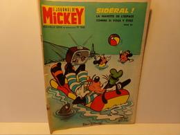 """Le Journal De Mickey Nouvelle Série N° 1048,  39 Pages , 1972 """" Sidéral La Navette De L'espace Comme Si Vous Y étiez """" - Mickey - Autres"""