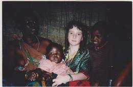 AFRIQUE DE L'EST,TANZANIE,TANZANIA,M AASAI,MASSAI,MASAI,MAISON EN ROSEAUX,VOYAGE,FILLE D'HUMANITAIRE - Lieux