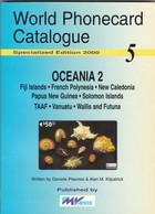 World Phonecard Catalogue - 5, Oceania 2. - Phonecards