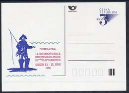 CZECH REPUBLIC 1996 3 Kc. Postcard ESSEN '96, Unused.  Michel P19-A2 - Postal Stationery