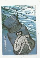Cp, 3 E Salon De La Carte Postale Et Toutes Collections, St AUBIN, 1987 , Illustrateur Jean Clérembaux , Vierge - Bourses & Salons De Collections
